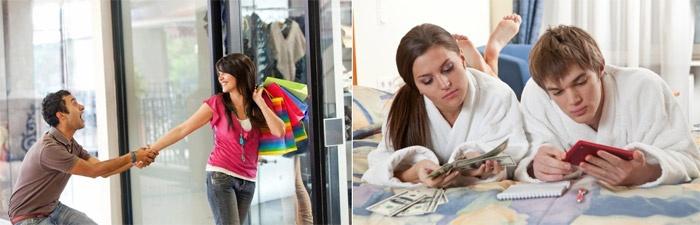 Идеальная жена согласовывает с мужем покупки