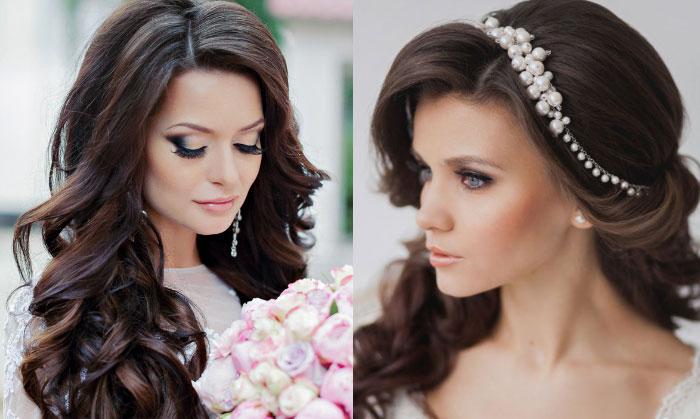 84b03eb0a6382ce Свадебная прическа для полного лица - как выбрать, фото и видео