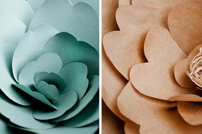Как сделать цветок из бумаги для украшения