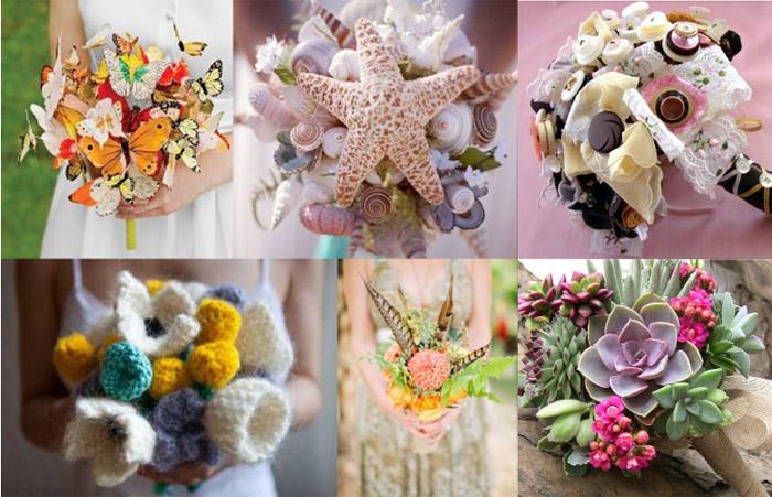 Самые необычные свадебные букеты, магазины цветов в могилёв