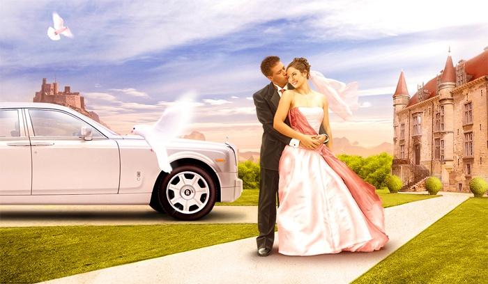 Организация свадьбы агентством