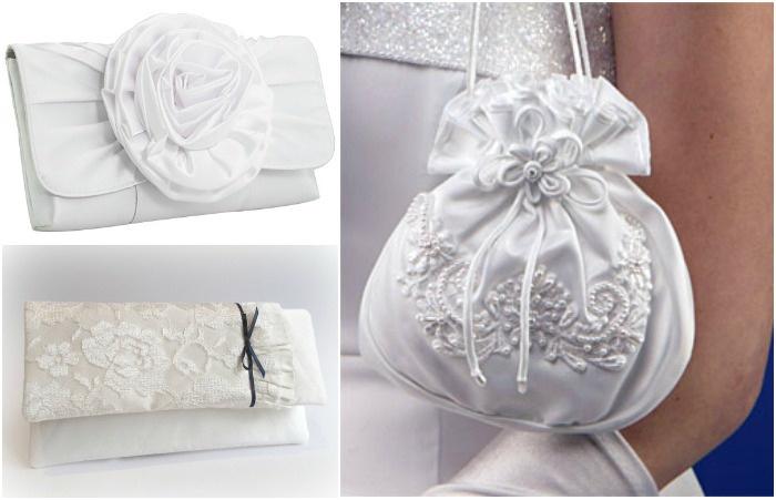 Свадебные аксессуары 2017: сумочка невесты