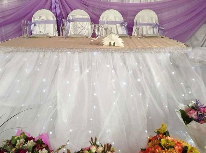 Юбка из фатина на свадьбу своими руками