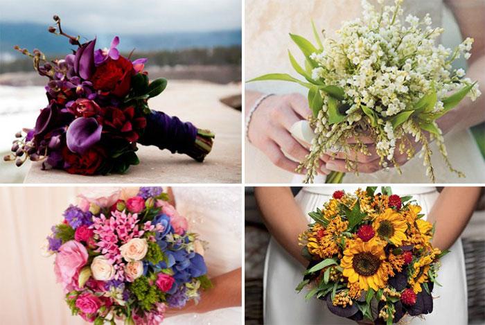 Из каких цветов нельзя делать букет невесты #1