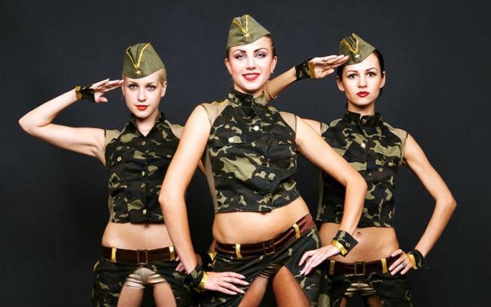 Образ милитари