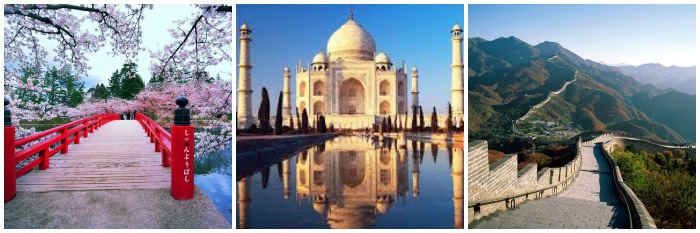 Куда поехать в свадебное путешествие в Азию