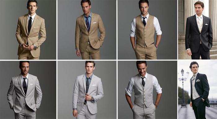 Мужской наряд на свадьбу
