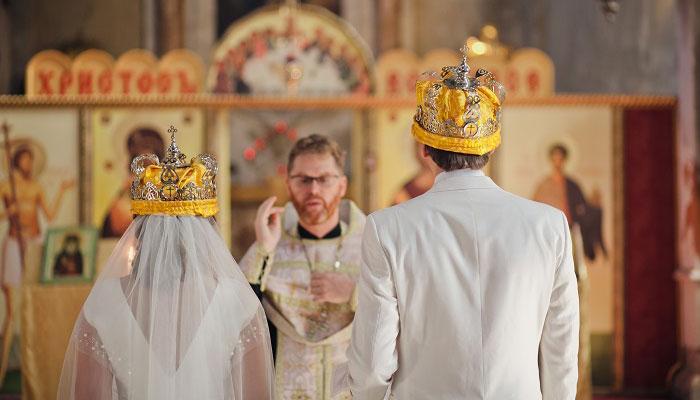 Таинство церковного бракосочетания