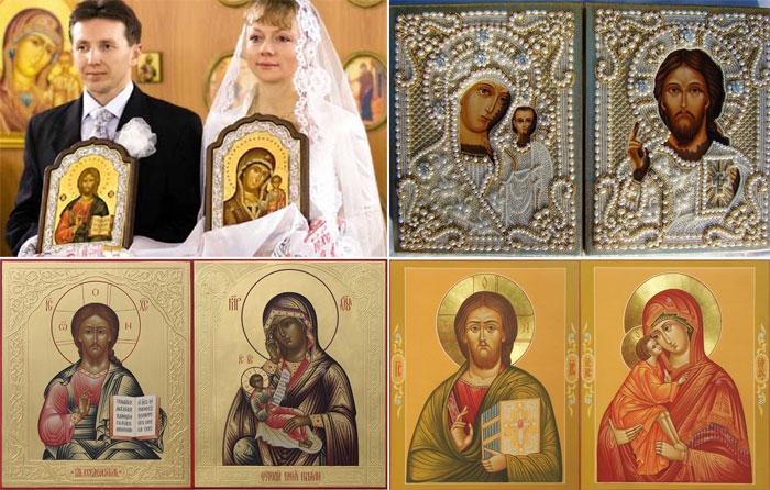 Иконы для венчания