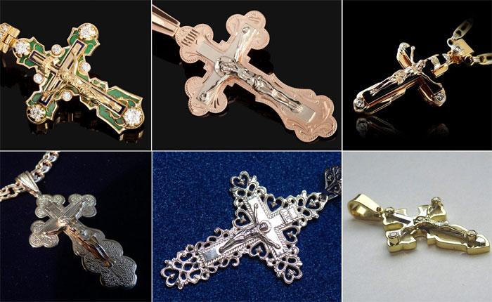 Нательные крестики для венчания