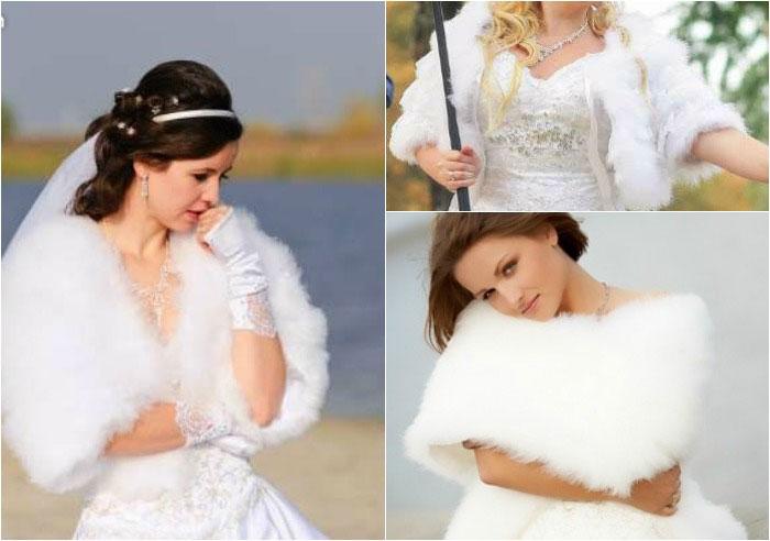 Шубка для невесты своими руками фото 442