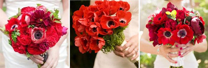 Свадебные маки