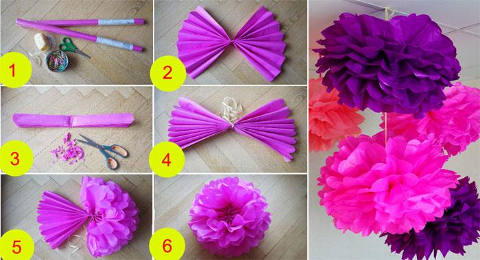 Как сделать из салфетки цветок схема фото 369