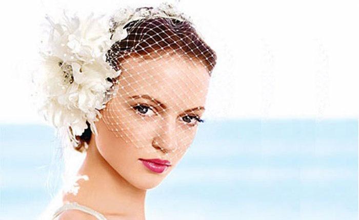 Фата-вуалетка для невесты