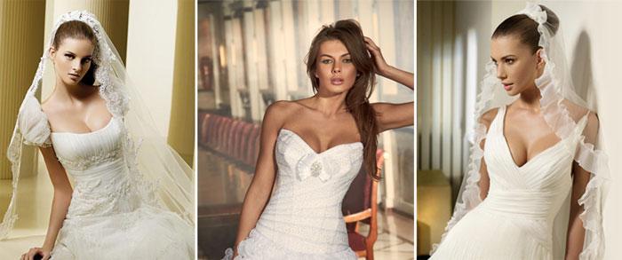 Свадебное платье большая грудь