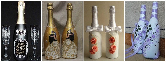 Декупаж шампанского своими руками фото 13
