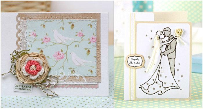открытка фото к свадьбе