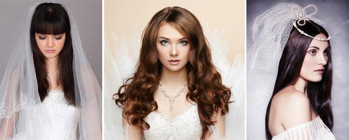 Прическа на свадьбу прямые волосы
