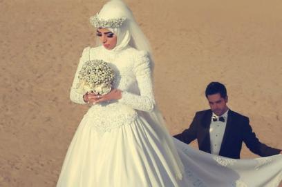 Арабские свадебные платья