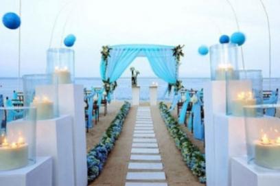 Сценарий бирюзовой свадьбы