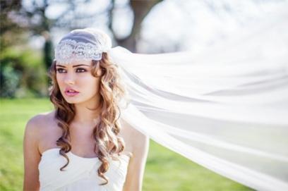 Bridal cap