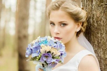 Букет невесты из фоамирана