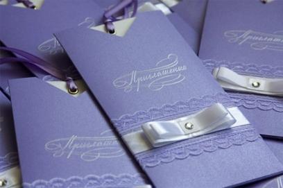 Какую выбрать бумагу для свадебных пригласительных?