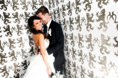 Черно белая свадьба