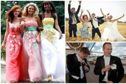 Что одеть на свадьбу свидетельнице (свидетелю)