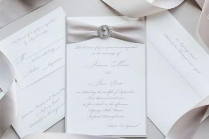 Идеи свадебных приглашений – фото