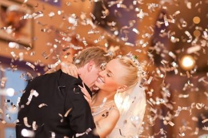 Хлопушки на свадьбу