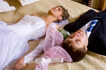 Красивая брачная ночь