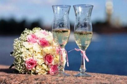 Свадебные бокалы своими руками пошаговое фото 🥗 как украсить стаканы для жениха и невесты