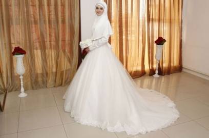 Мусульманские свадебные платья