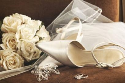 Стильная обувь на свадьбу для невесты