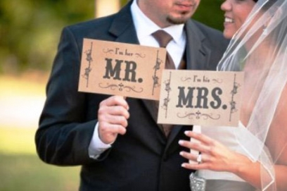 Надписи для фотосессии на свадьбу