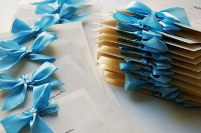 Необычные свадебные приглашения