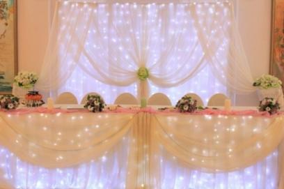 Стол молодоженов 🥗 как украсить, декор для украшения столов на свадьбе
