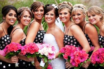 Прически подружек невесты (61 фото)