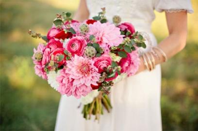 Ранункулюс букет невесты