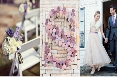 Свадьба в сиреневом цвете фото 🥗 украшение в сливовом стиле