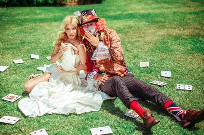 Свадьба в стиле Алисы