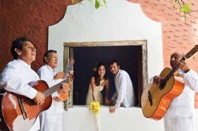 Свадьба в стиле латино