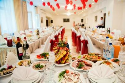 Свадебное меню на 60 человек в ресторане