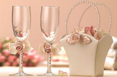 Свадебные бокалы своими руками 🥗 оформление фужеров для жениха и невесты, мастер класс