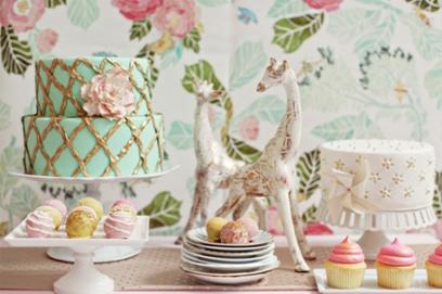 Винтажный торт на свадьбу