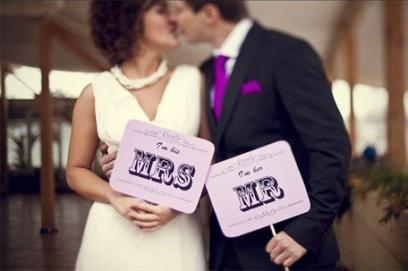 Таблички для свадебной фотосессии своими руками