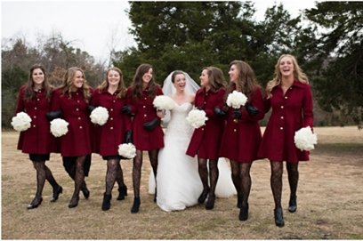 В чем пойти зимой на свадьбу