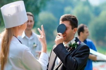 Выкуп невесты в современном стиле