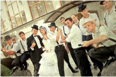 Выкуп невесты в стиле бандитов